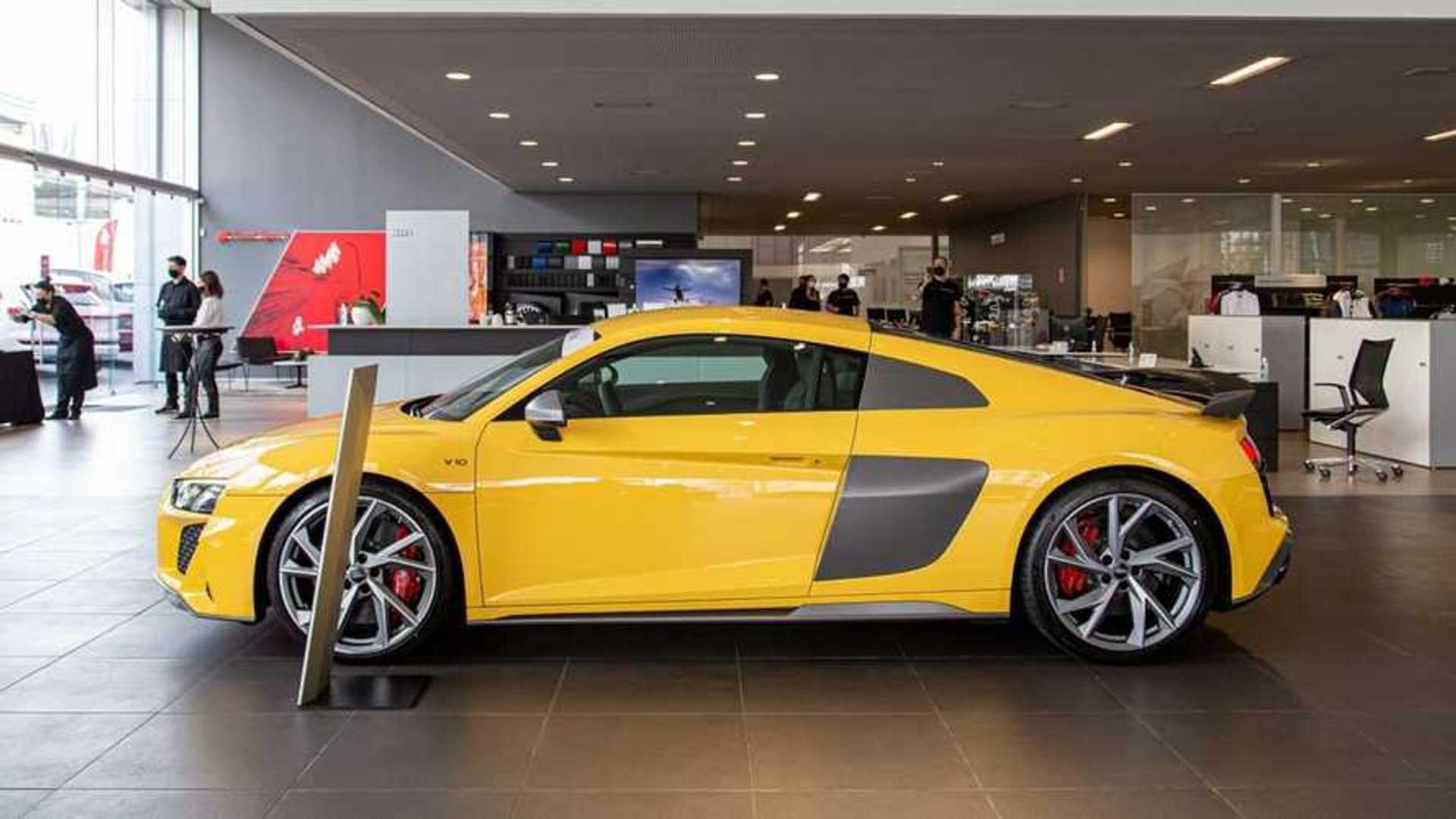 Audi R8 2021 Tem Primeiras Unidades Entregues No Brasil Veja Fotos