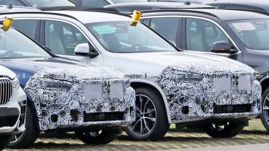 BMW X3 spy photos reveal a mild refresh