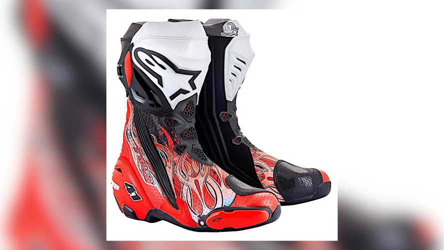 Alpinestars Releases Limited Edition Supertech R Noriyuki Haga Boot