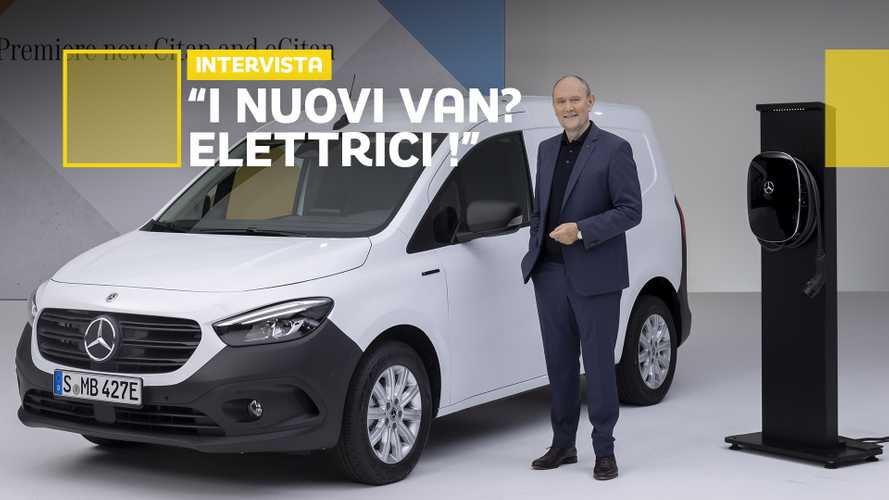Mercedes-Benz Vans, parla Breitschwerdt: il futuro è elettrico