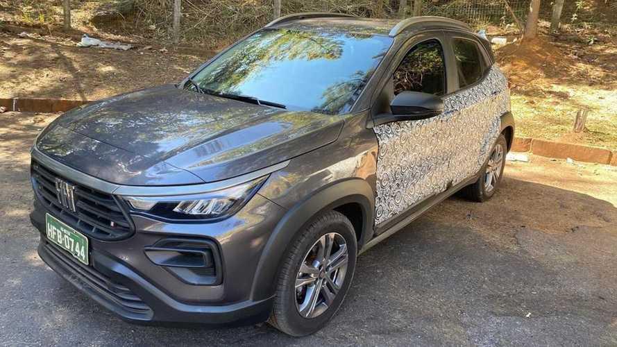 Flagra: Novo Fiat Pulse aparece quase sem camuflagem