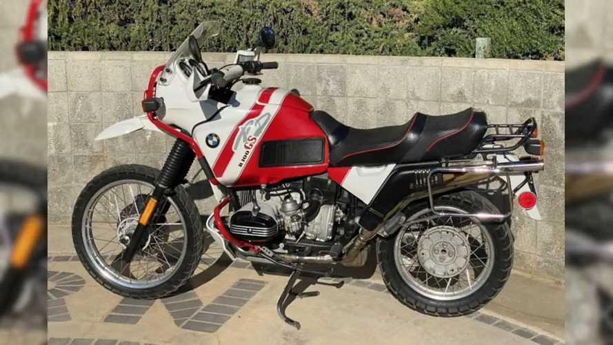 This BMW R100GS Paris-Dakar Needs A New Home