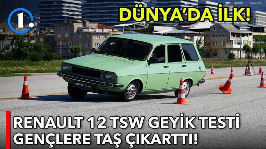 1983 Renault 12 TSW  |  Geyik Testi