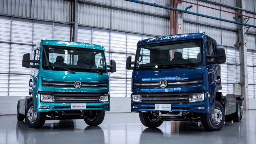 Caminhão elétrico VW e-Delivery tem início de pré-venda no Brasil