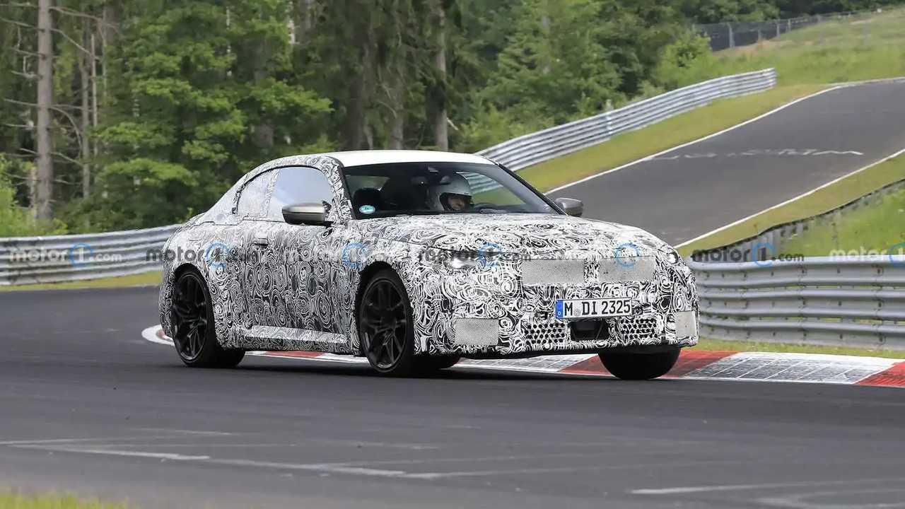 Der kommende BMW M2 bei Testfahrten auf dem Nürburgring