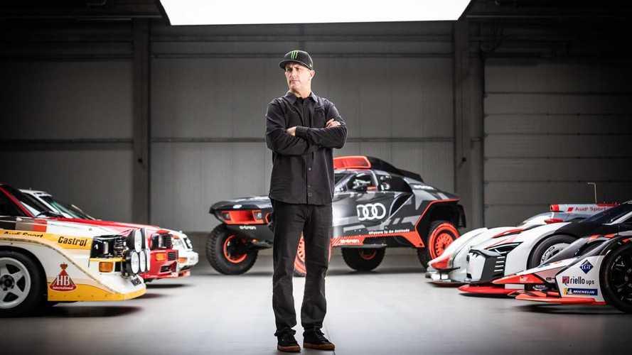 Ken Block guiderà le prossime Audi elettriche
