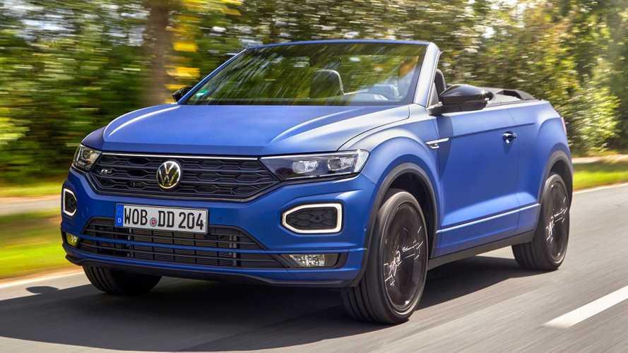 "VW T-Roc Cabriolet R-Line ""Edition Blue"": Blau-Mann"
