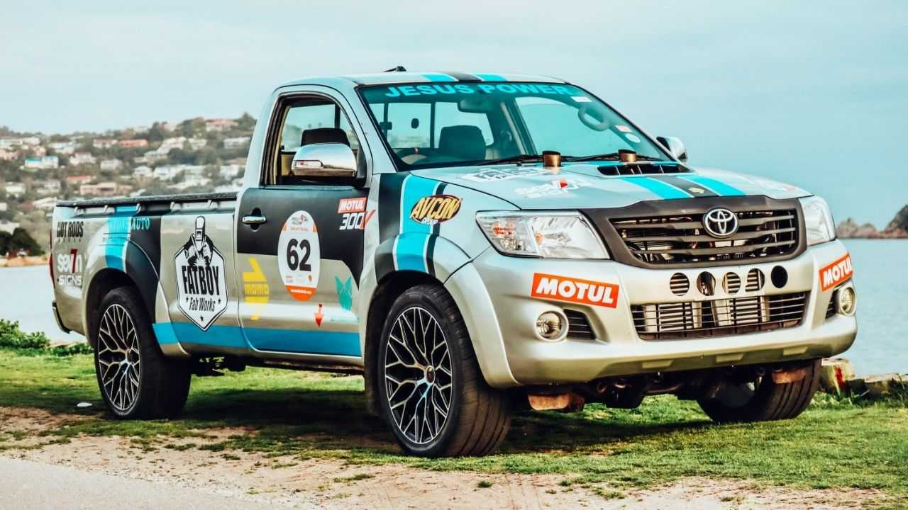 Toyota Hilux V12 Twin-Turbo conversion by Fatboy Fab Works
