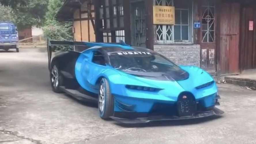 ¿Te convence la copia china del Bugatti Vision Gran Turismo?