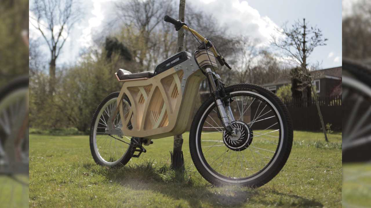 This Rad E-Bike Has Been Handcrafted From Wood