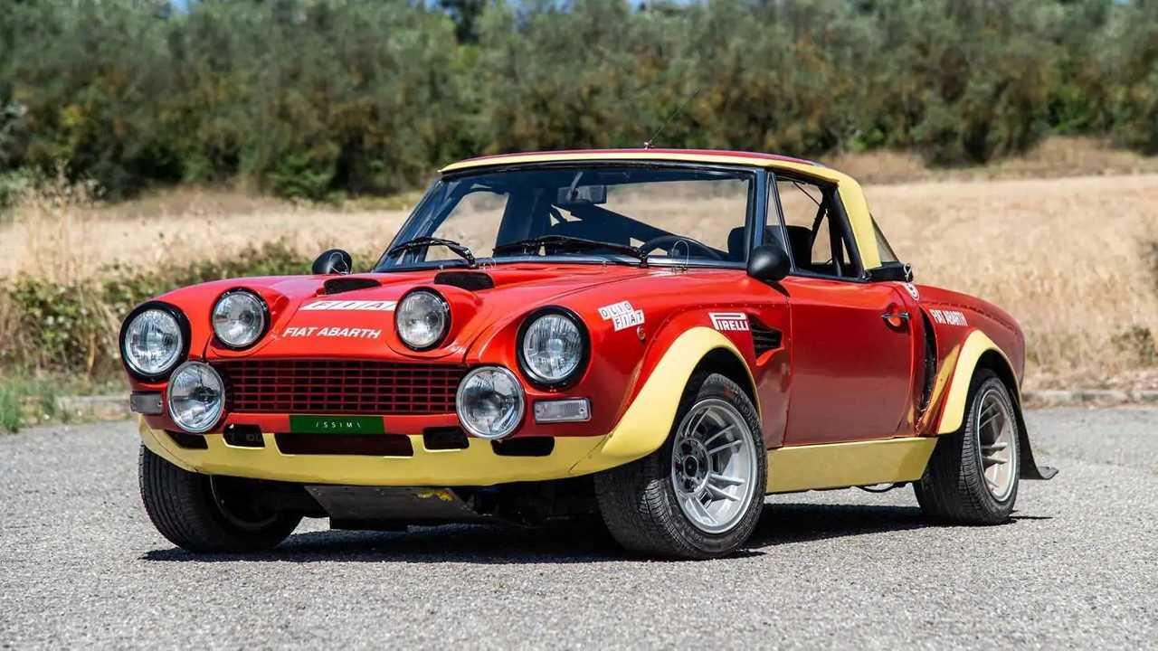 Fiat 124 Abarth Rally, ex Grupo 4, de 1974 en venta