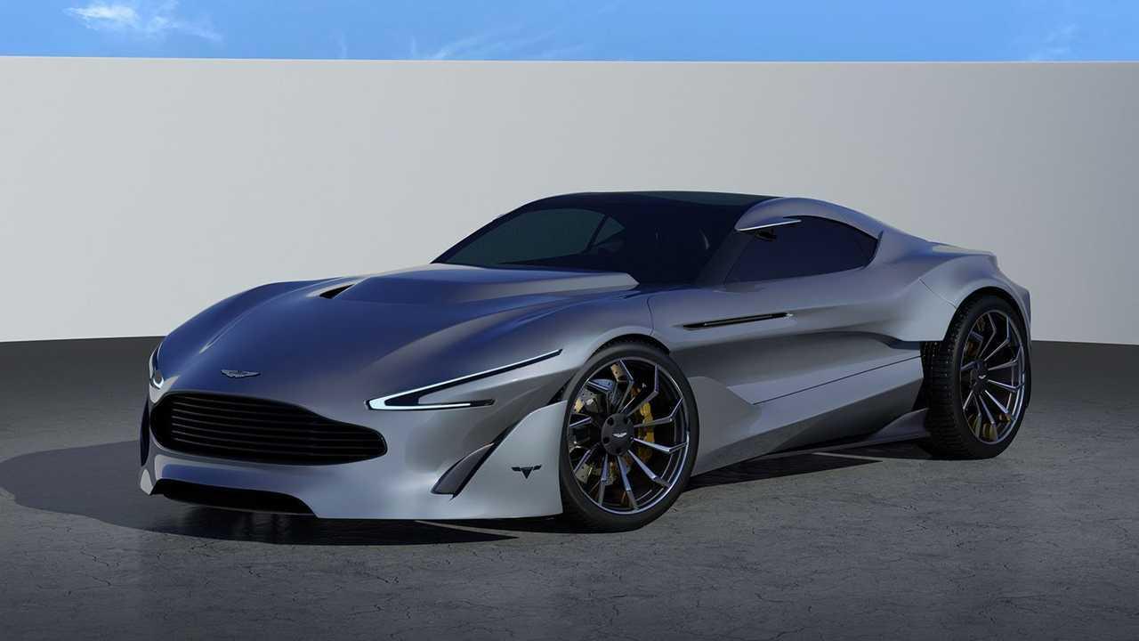 Aston Martin Vantage: Der elektrisch angetriebene Nachfolger als Rendering
