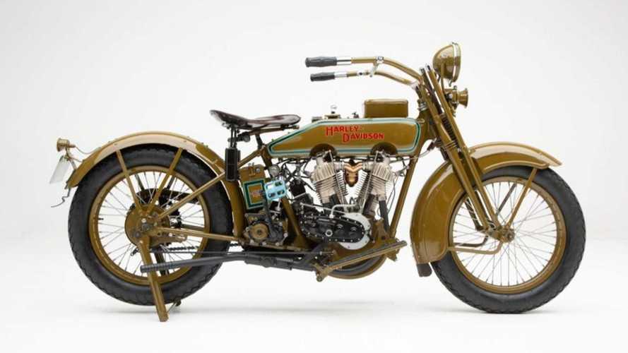 Bring Home Vintage Perfection: A 1920 Harley-Davidson Model J