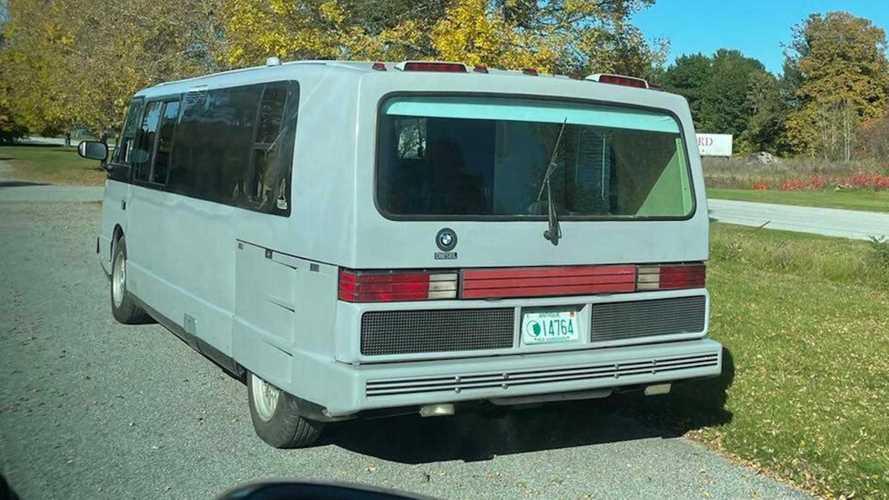 Автодом Vixen с эмблемой BMW