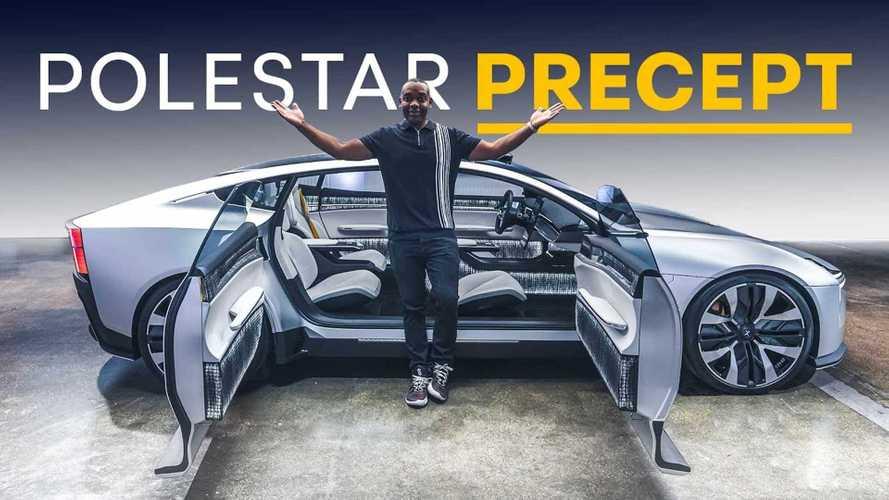 Polestar Precept Praised For Aesthetics, Sustainable Solutions