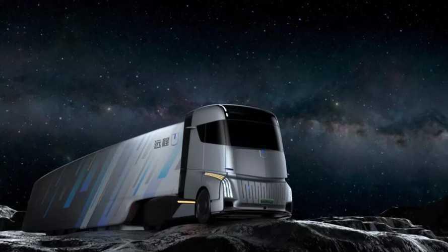 Geely представит интеллектуальный грузовик Energy