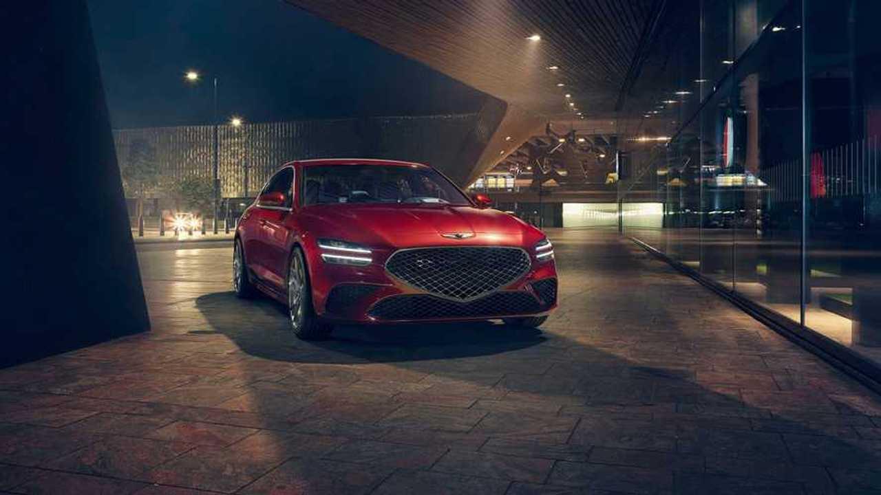 Genesis G70 впервые получил в России V6 и задний привод