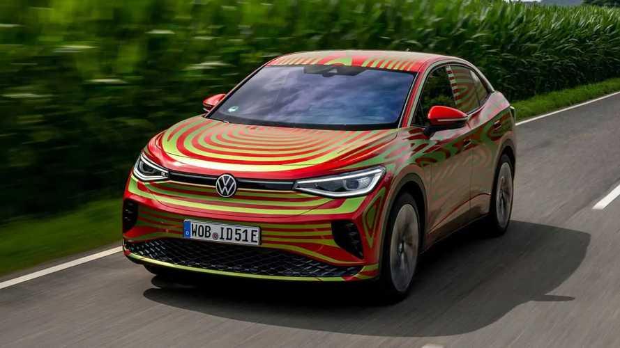 VW ID.5 GTX Concept Teaser IAA 2021