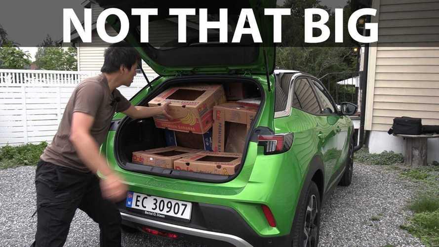 Opel Mokka-e 'Not That Big' In Bjorn's Banana Box Test