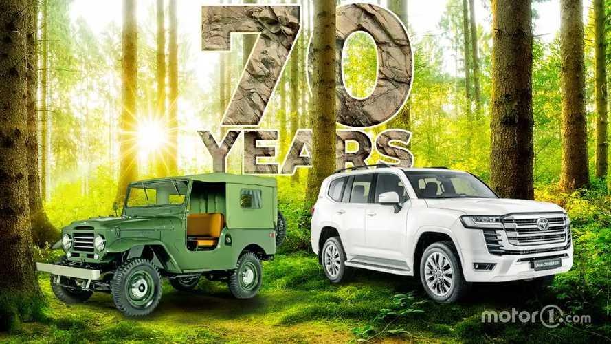 Toyota Land Cruiser fa 70 anni: la vera storia del mito off road