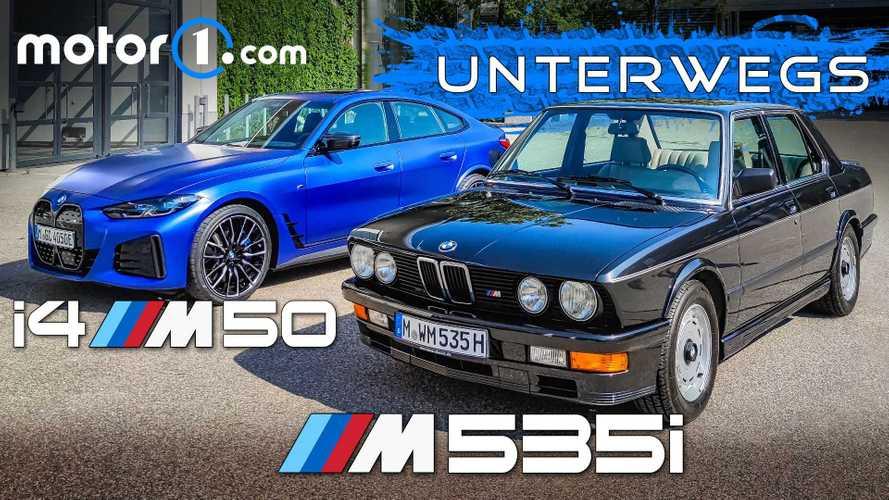 Video: BMW (E28) M 535i und BMW i4 M50 (2021) im Test