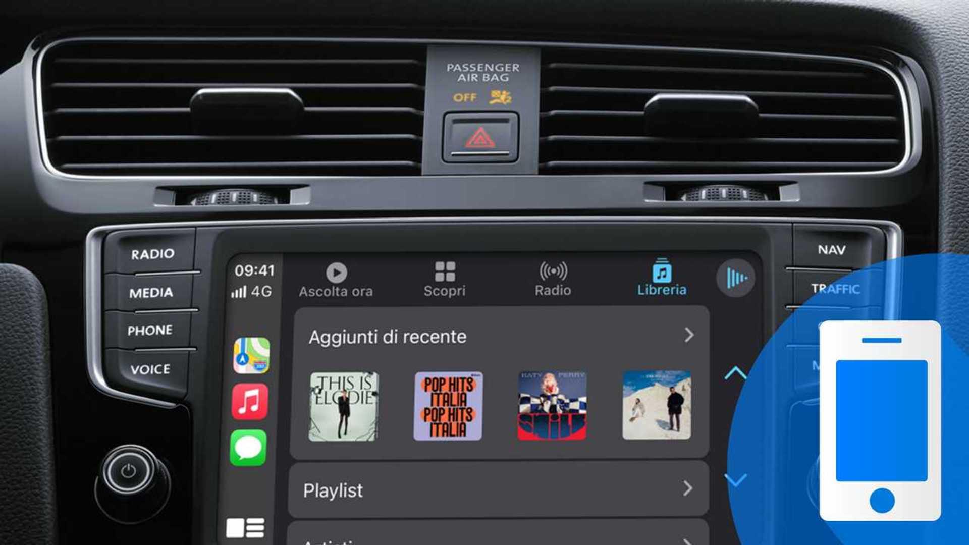 Ascoltare podcast e audiolibri con Apple CarPlay: le migliori app