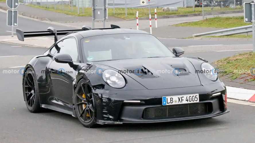 La future Porsche 911 GT3 RS se montre à nouveau