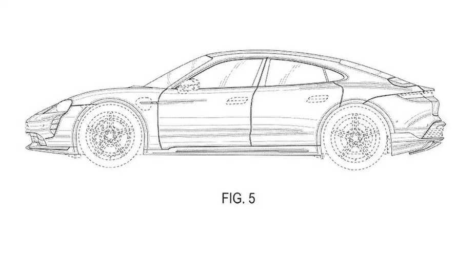 Porsche Taycan Cross (registro)