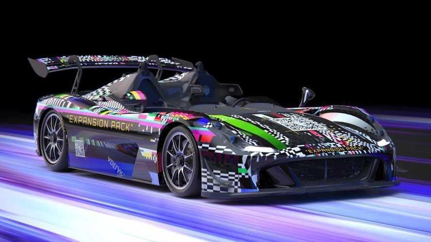 La Dallara Stradale EXP veste i colori dei videogiochi