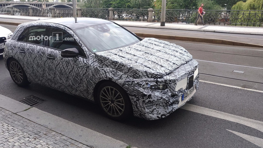 Motor1.com Reader Photographs 2019 Mercedes A-Class In Prague