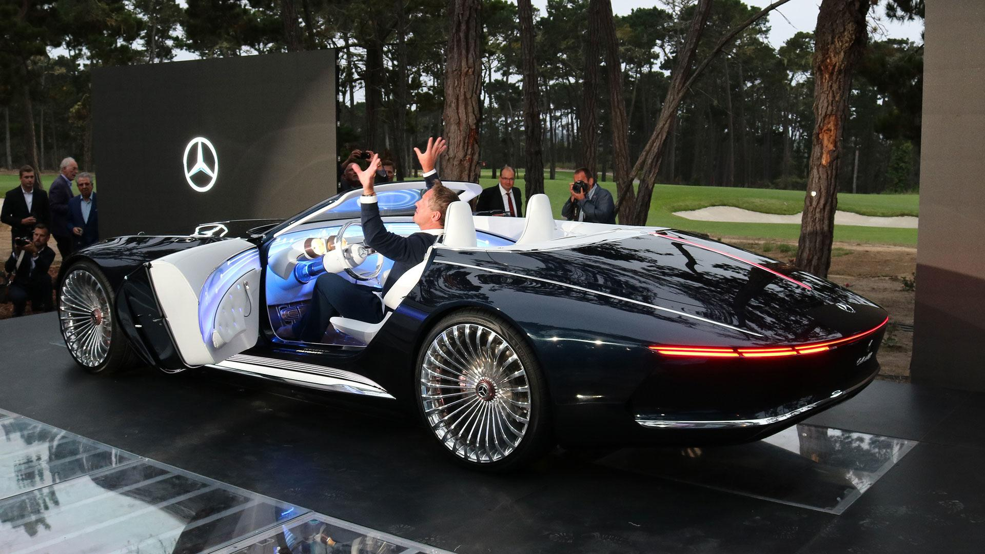 Vision Mercedes Maybach 6 Cabriolet Is A Gorgeous Top Down Ev