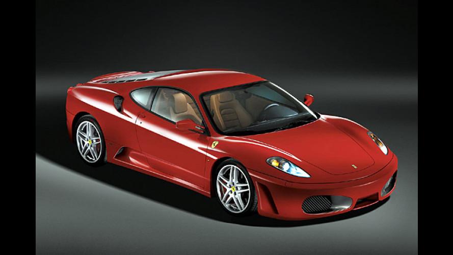 Ferrari F430: Viel Leistung und wenig Gewicht