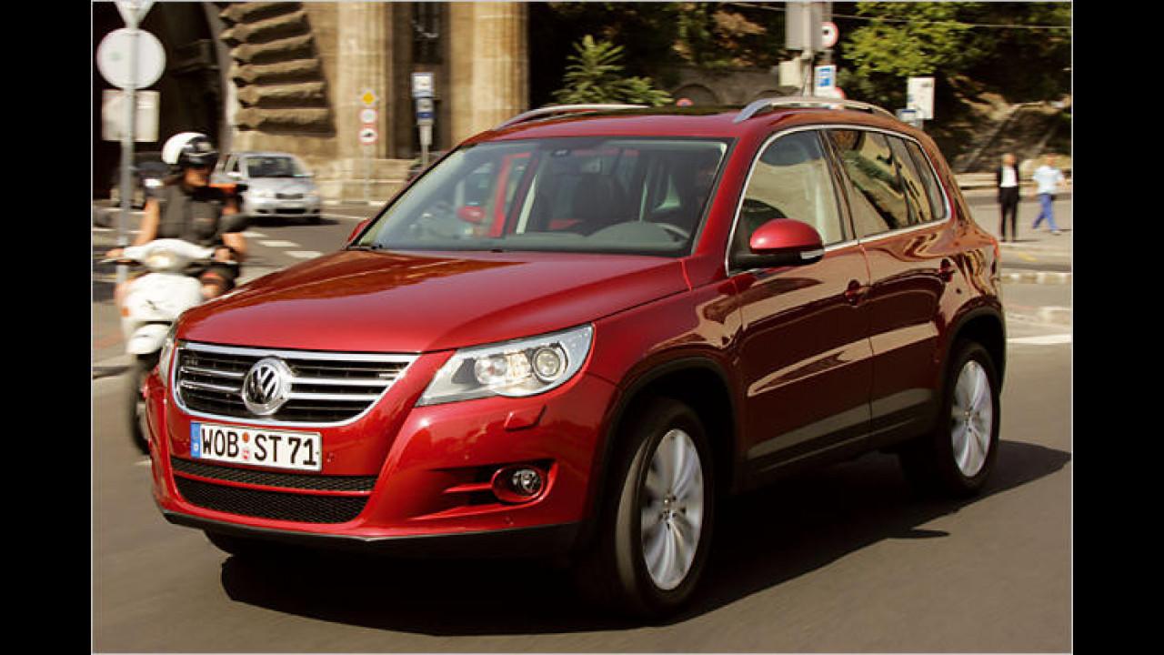 VW Tiguan 2.0 TDI DPF