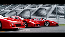 Ferrari F40 and 288 GTO E