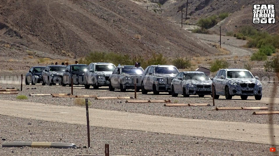 BMW ve Rolls-Royce konvoyu Ölüm Vadisi'nde yakalandı