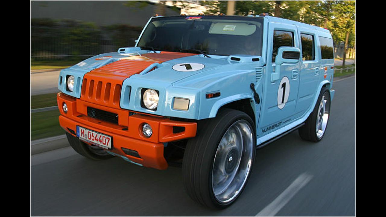 Geht ab: Hummer GT