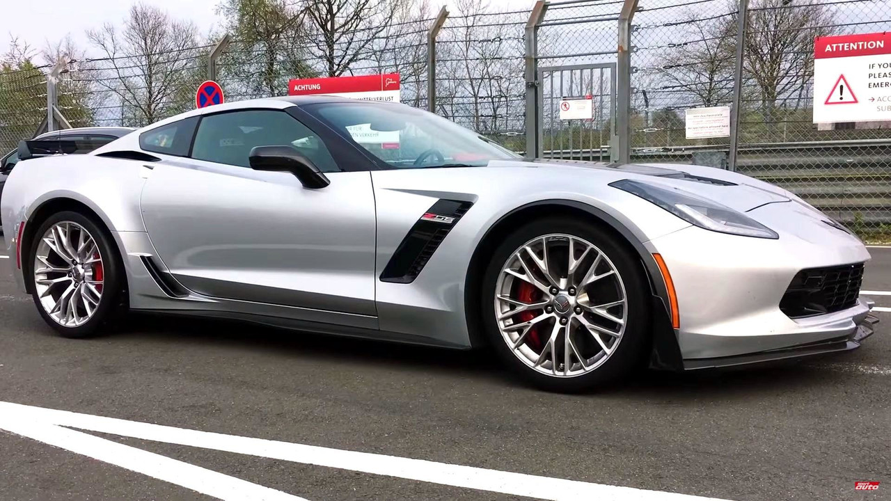 Watch Corvette Z06 Round The N 252 Rburging In 7 13 9