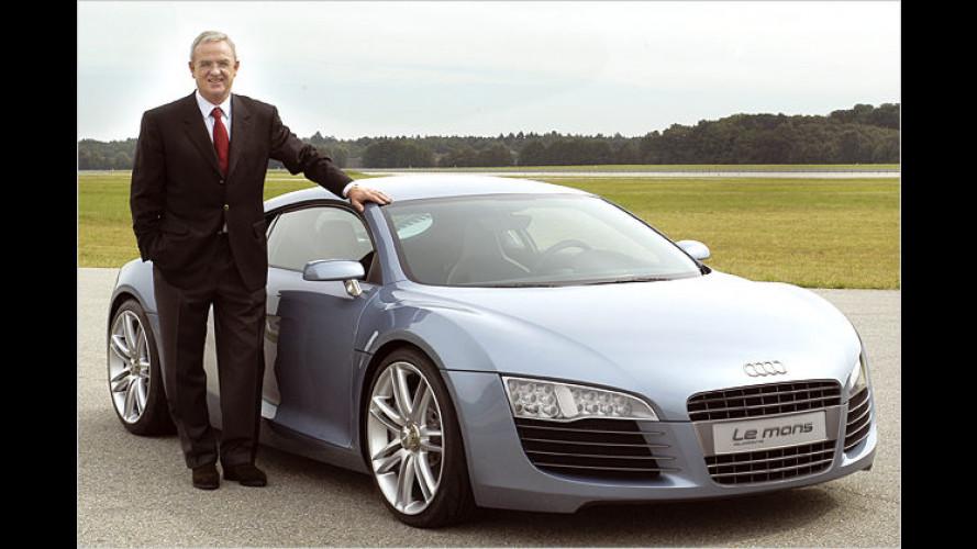 Aufsichtsrat gibt grünes Licht: Winterkorn wird VW-Chef