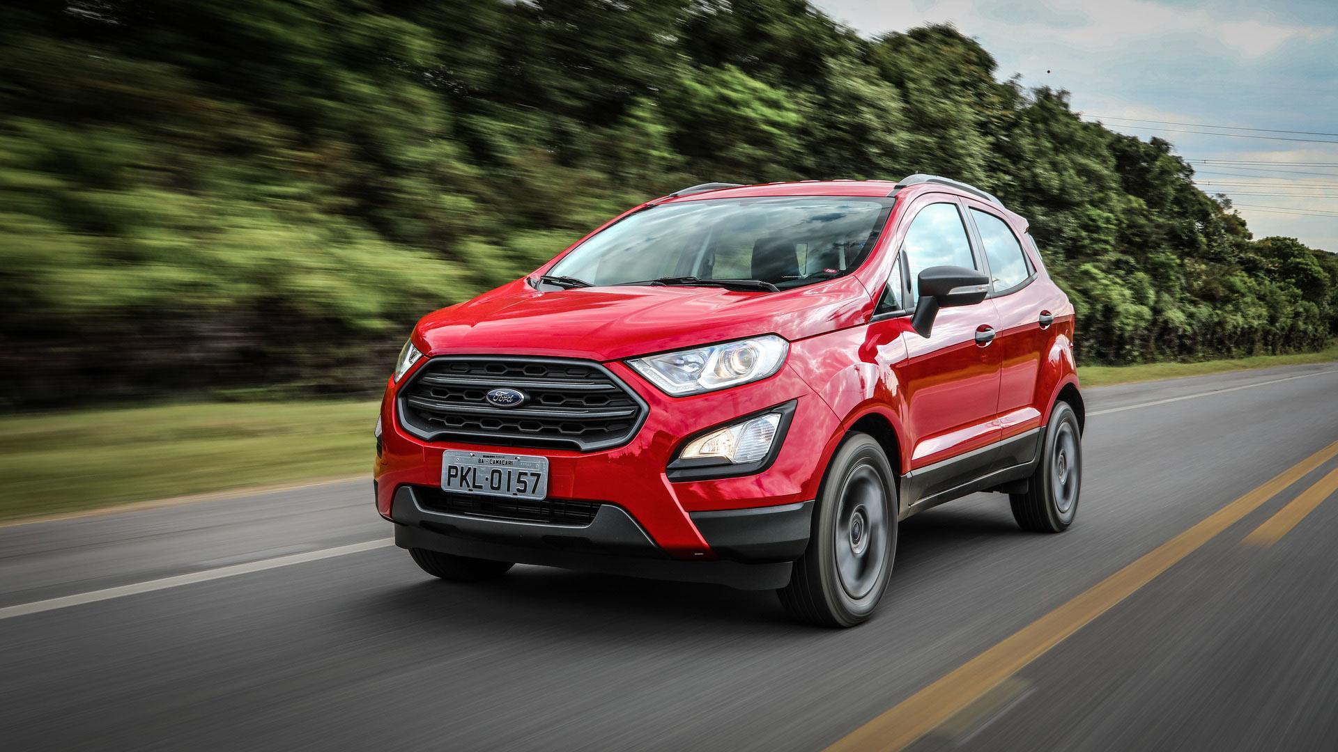 Ford Ecosport 2019 Fica Mais Barato Mas Perde 7 Airbags Em Quatro