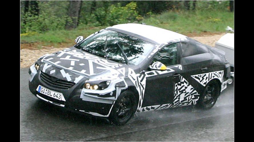 Erste Bilder vom Neuen: Opel Vectra als Erlkönig aufgespürt