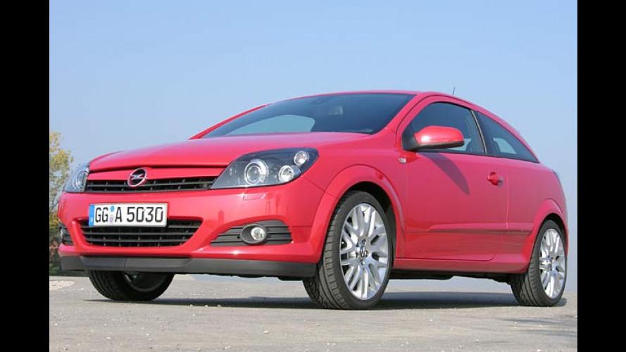 Opel Astra GTC Turbo Sport: Feuerrotes Spielmobil