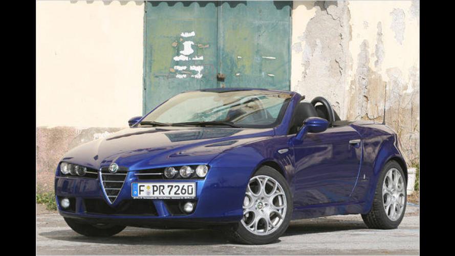 Legende der Leidenschaft: Der neue Alfa Spider im Test