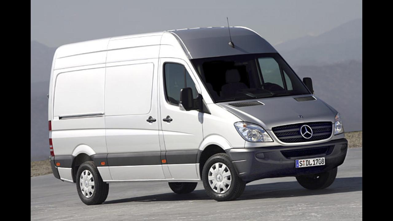 Mercedes Sprinter 218 CDI: keine Angabe