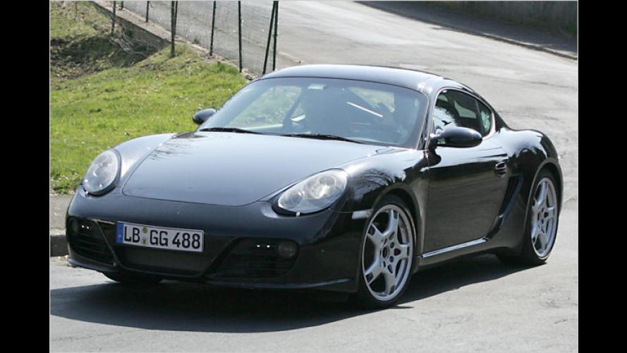Erlkönig gesichtet: Porsche Cayman mit neuem Gesicht