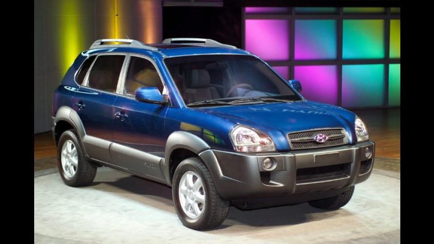 Kleiner als Santa Fe: Kompakt-SUV Tucson ab Spätsommer