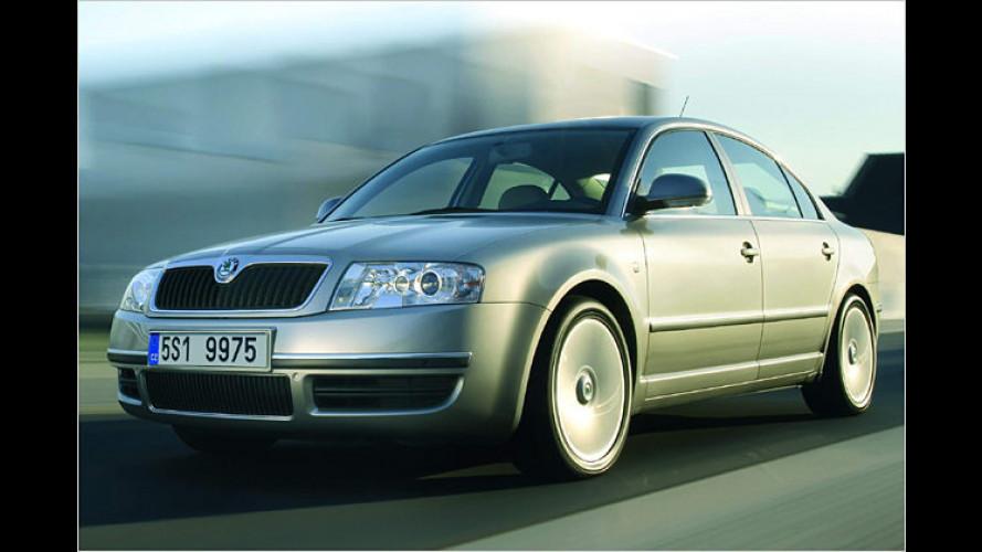 Der Skoda Superb des Modelljahrs 2007 kommt im August