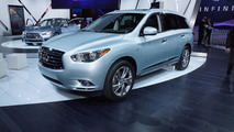 2014 Infiniti QX60 Hybrid live in New York 27.3.2013