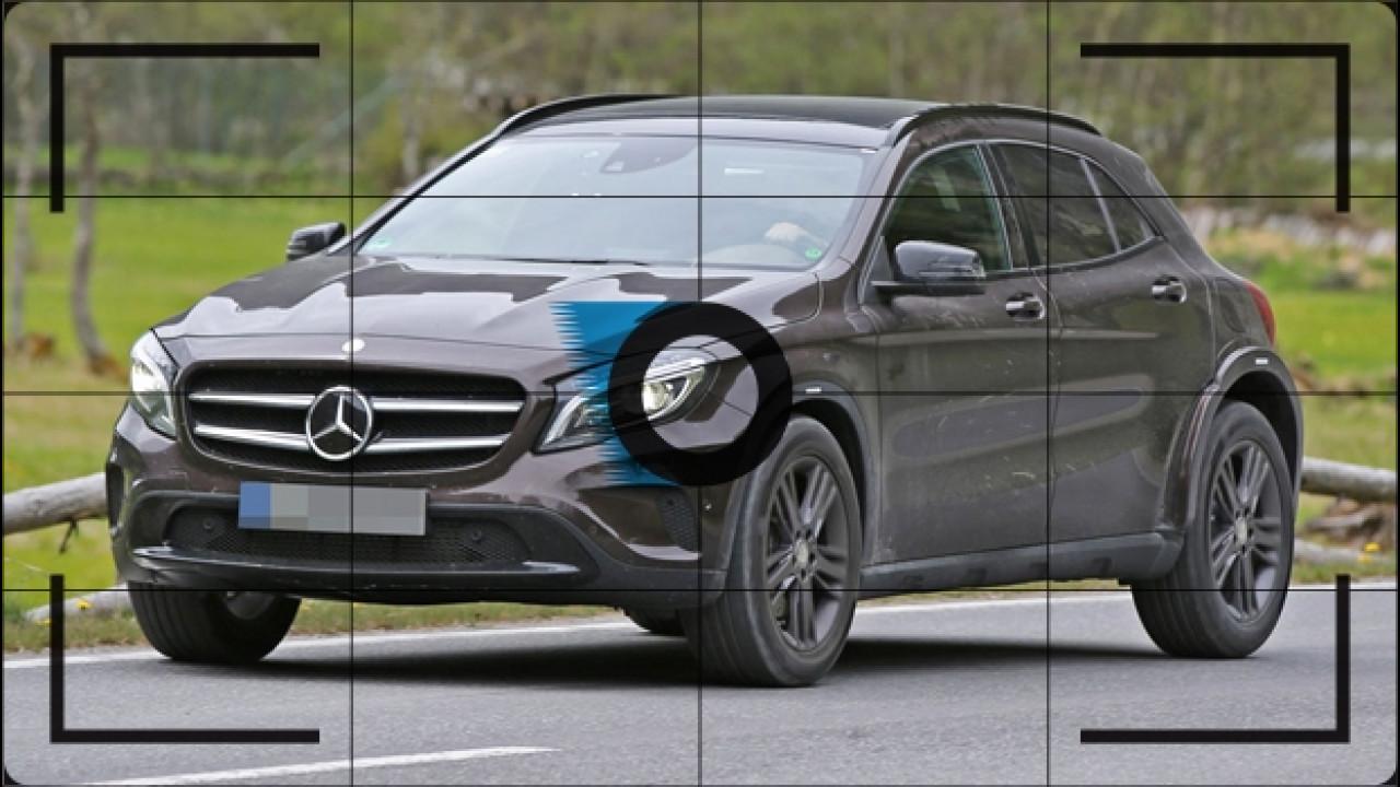 [Copertina] - Mercedes GLB, le foto spia del prossimo SUV