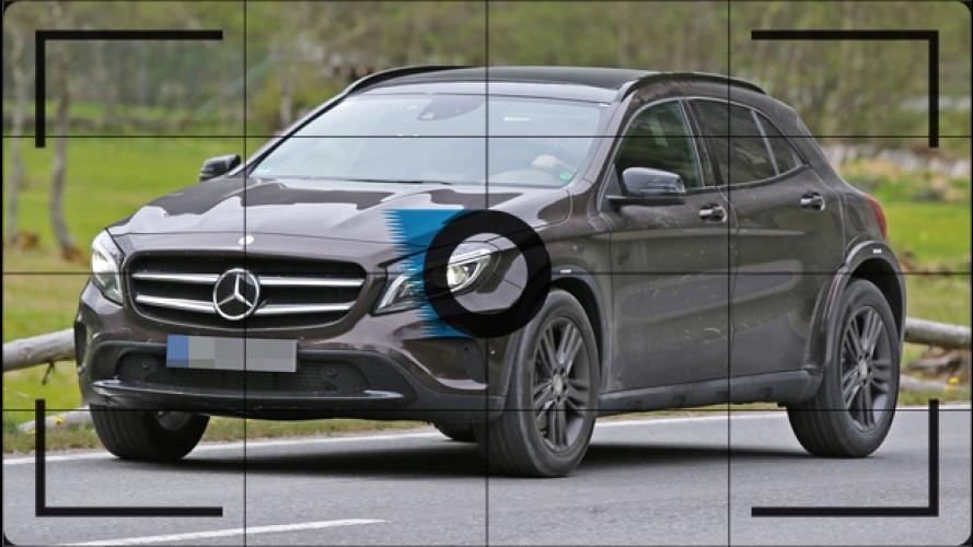 Mercedes GLB, le foto spia del prossimo SUV