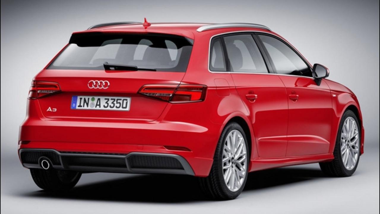 [Copertina] - Audi A3 restyling, prezzi da 27.800 euro